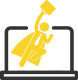 Digital Hero Icon