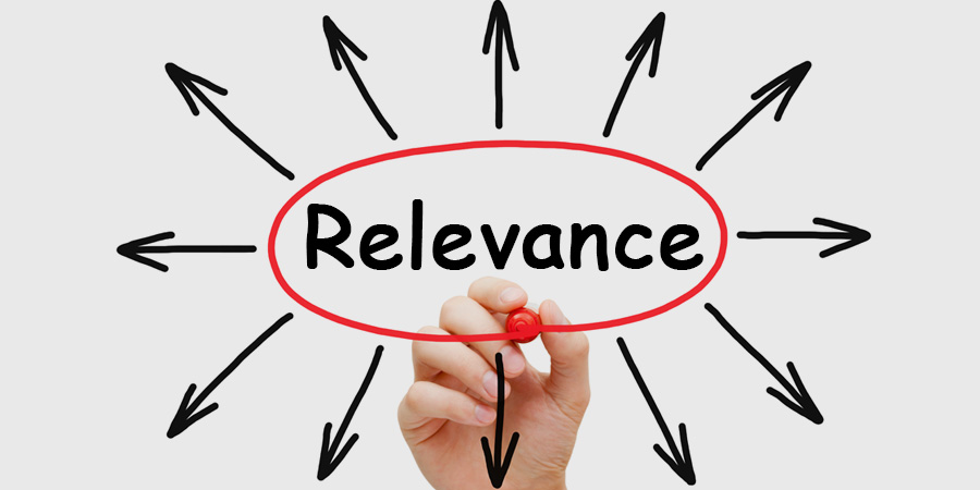Be Relevant with Your Digital Marketing