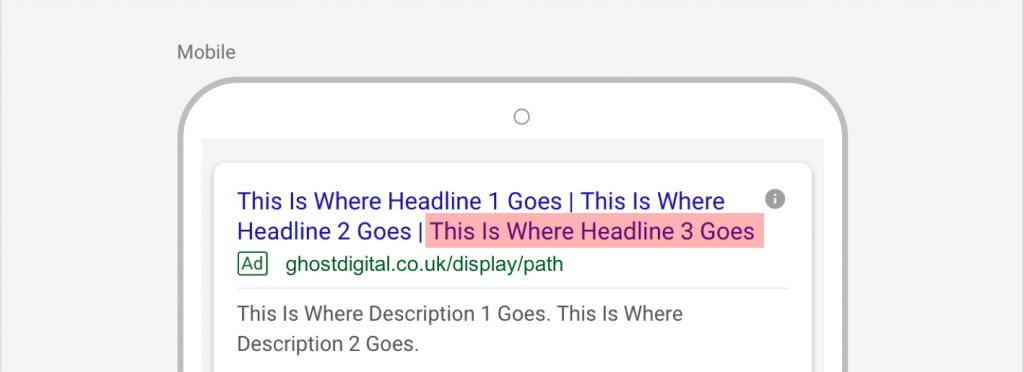 Google Adds Headline 3 To Search Ads